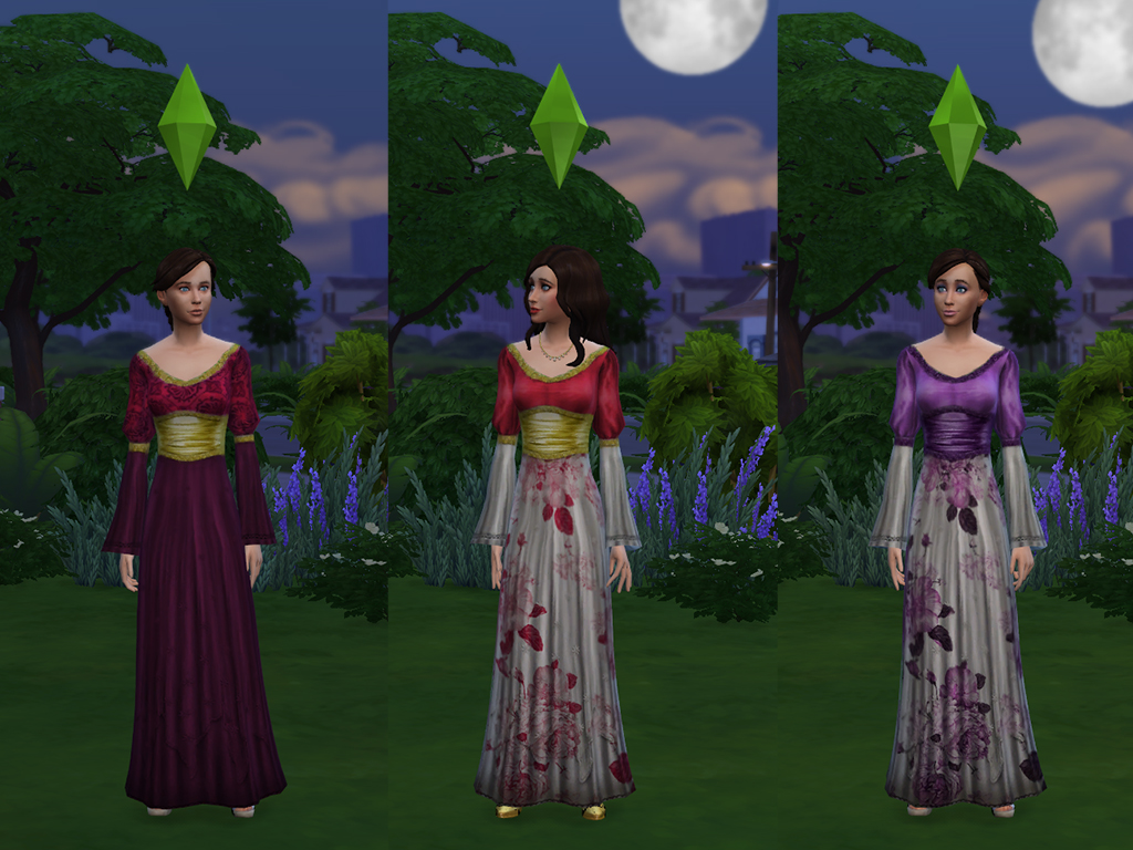 mod the sims - medieval times
