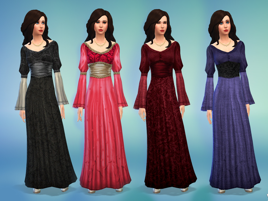 Mod The Sims - Medieval Times - Dress