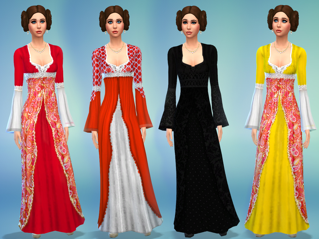 Mod The Sims - Medieval Times 2 Dress