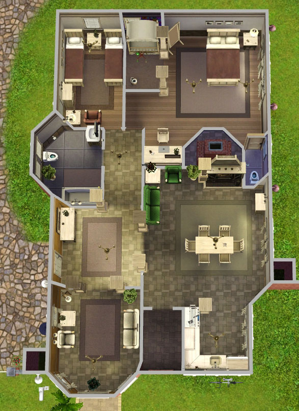 How To Build Houses On Sims
