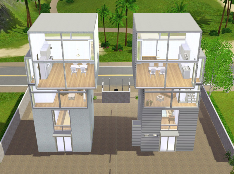 Mod The Sims Ando Towers