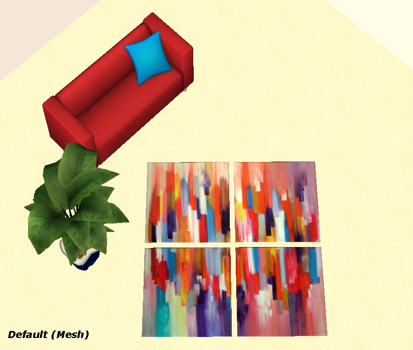 Mod The Sims New 4 The Arts Rug For Your Sims