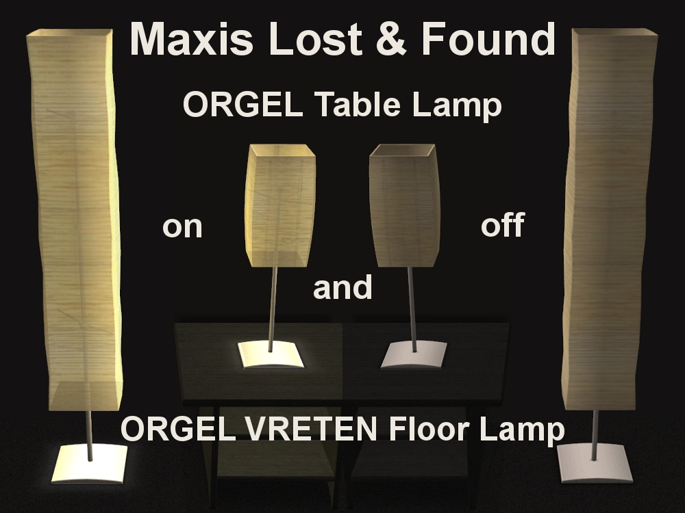 Mod the sims maxis lost found ikea lights now for mts x aloadofball Images