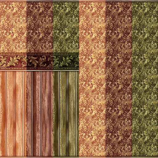 A nice wee set for your Victorian homes! Perfect for your studies bedrooms and living rooms. Suits mansions and cottages alike. Works well with a Ste&unk ... & Mod The Sims - Damask Victorian Walls \u0026 Floor Set
