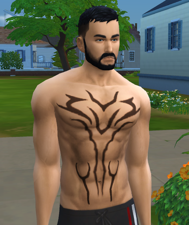 Mod The Sims Jin Kazama Tattoos