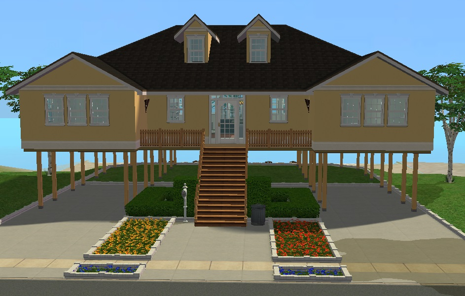 Mod The Sims Low Country Beach House