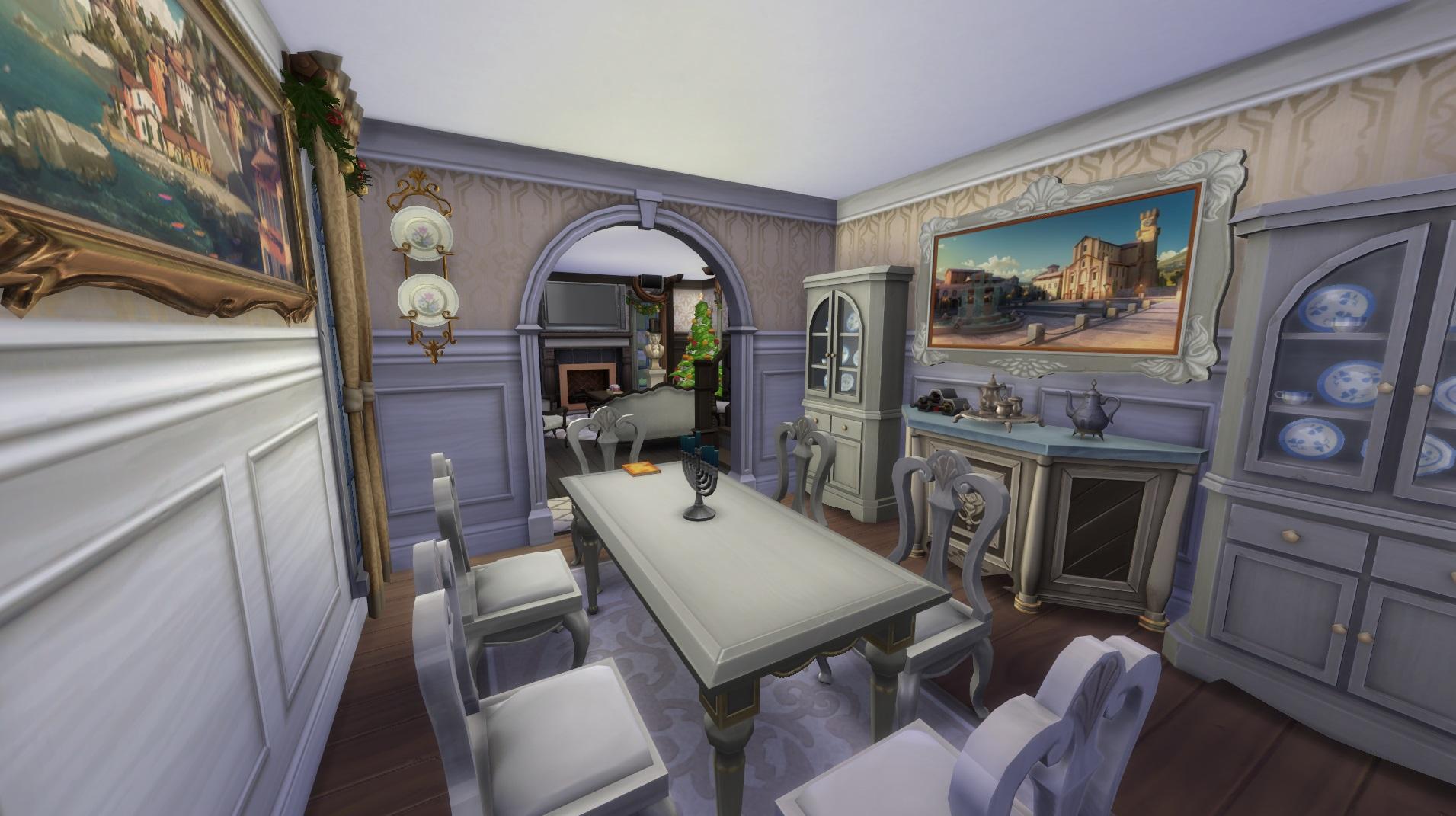 Dining room width