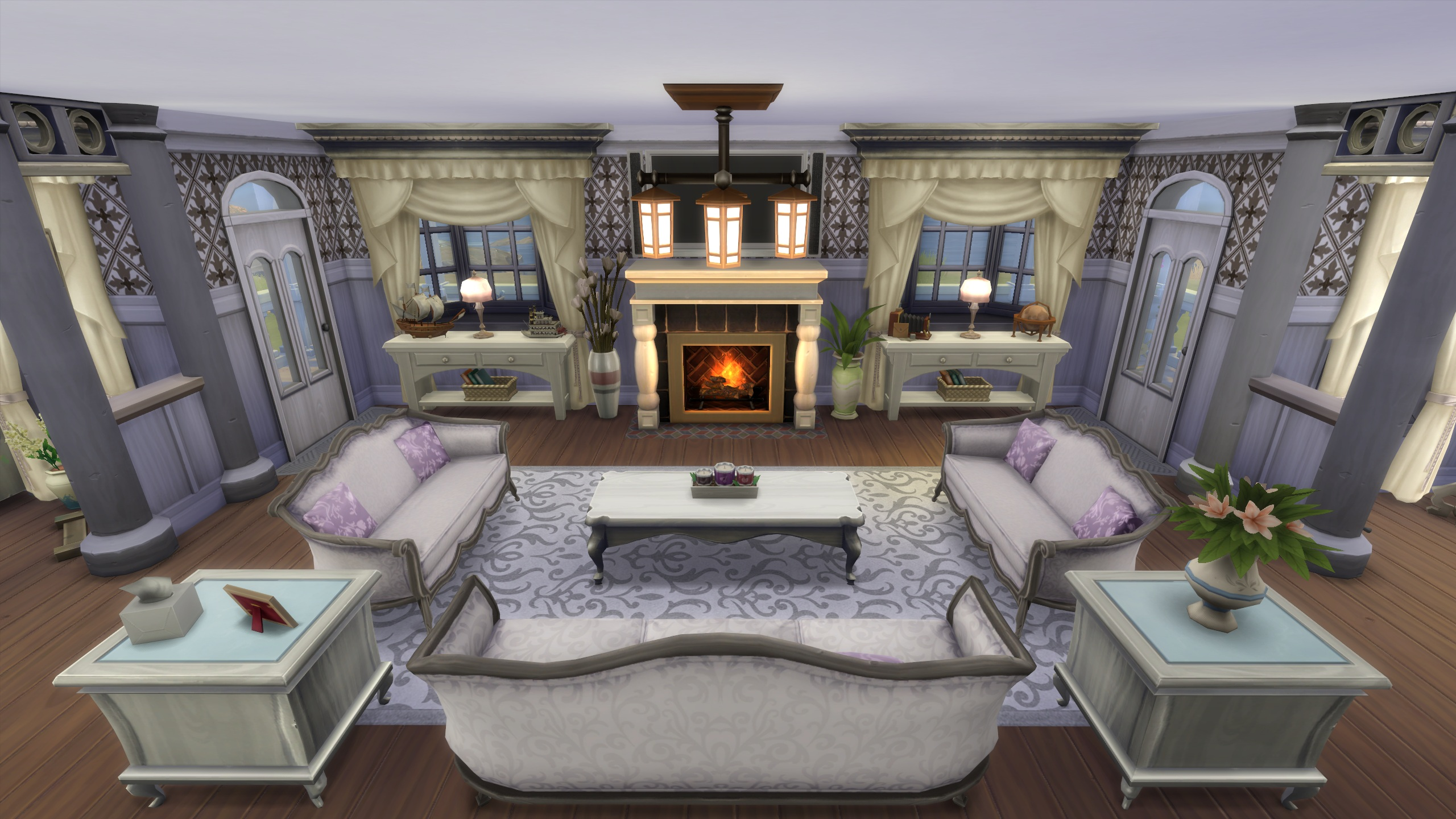 Mod The Sims Coastal Cottage No Cc