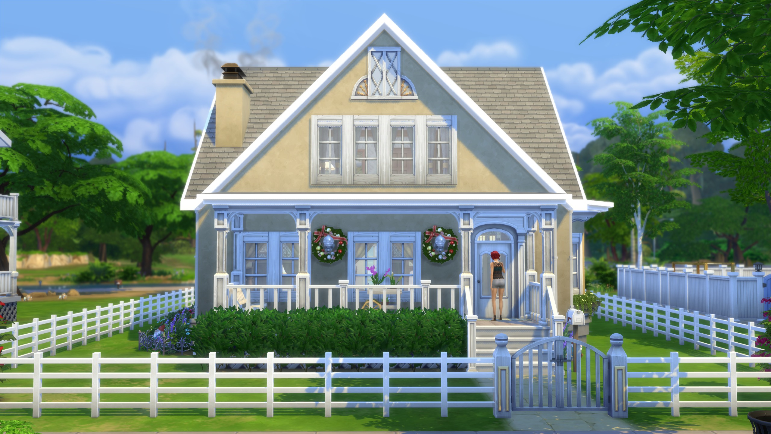 Mod the sims country craftsman no cc for Country craftsman