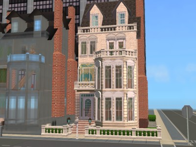 Mod The Sims 18 Stafford Terrace Victorian Townhouse