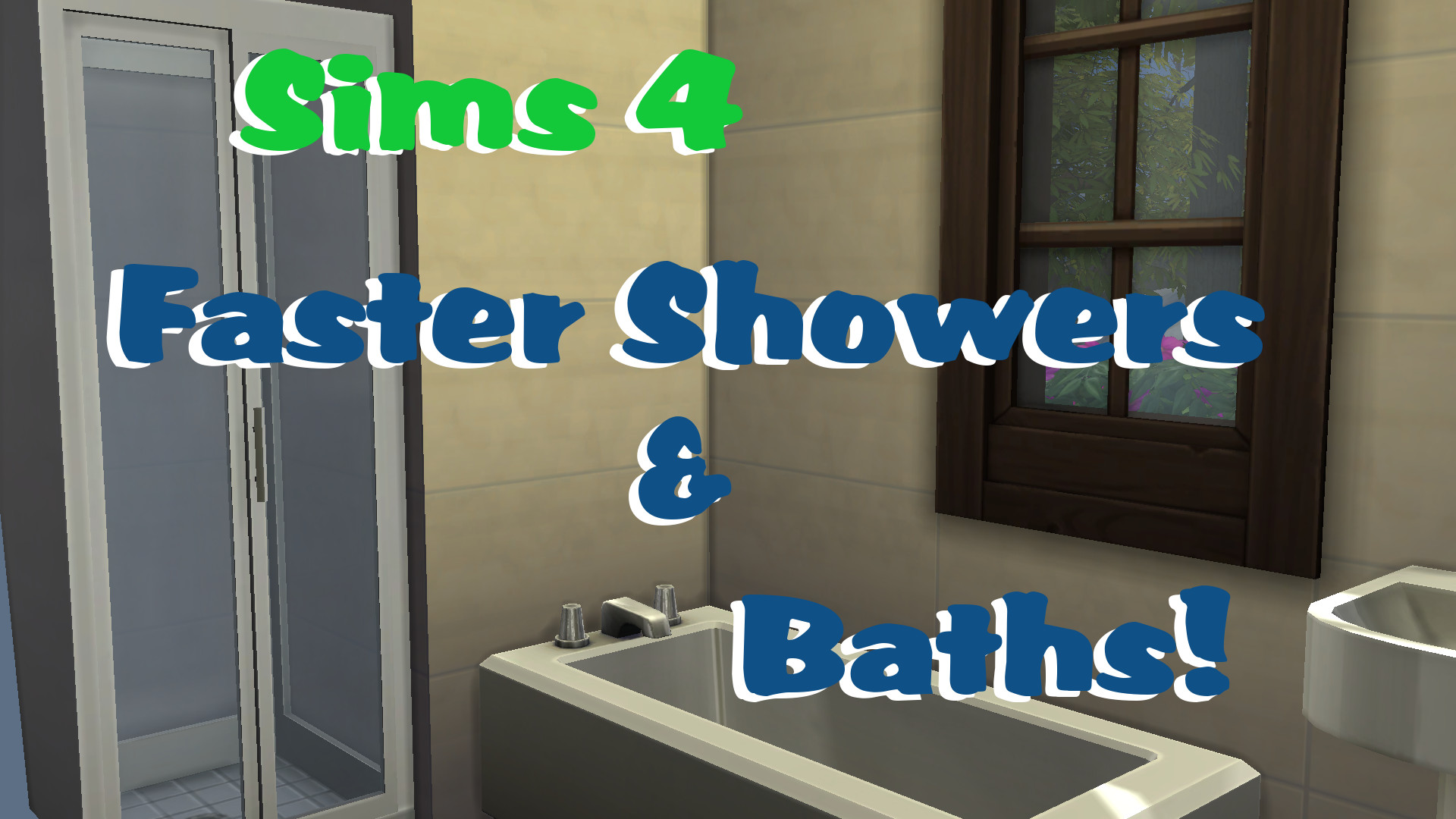Mod The Sims - Faster Showers & Baths!