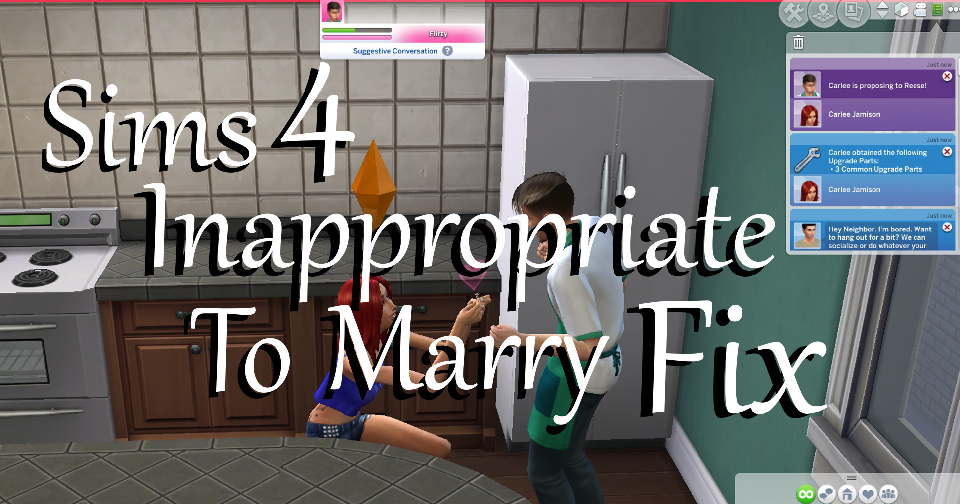 Mod The Sims - Inappropriate To Marry FIX