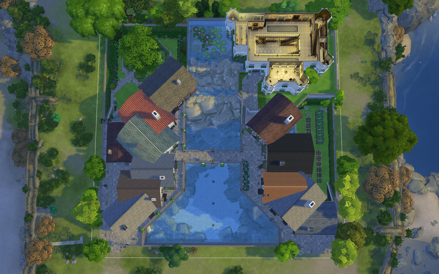 Mod The Sims Old French Village