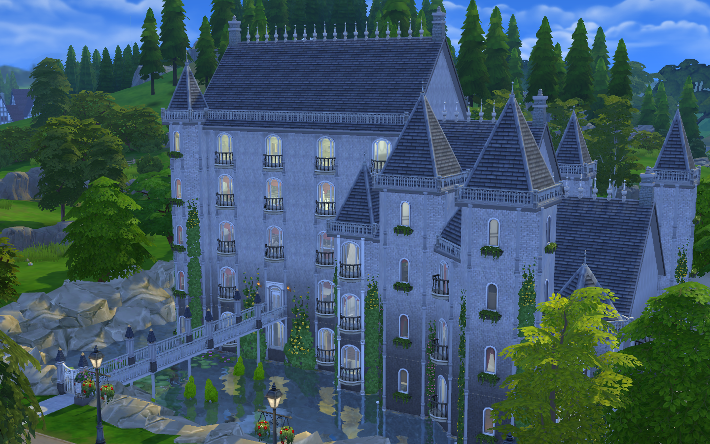 Mod The Sims - French Castle