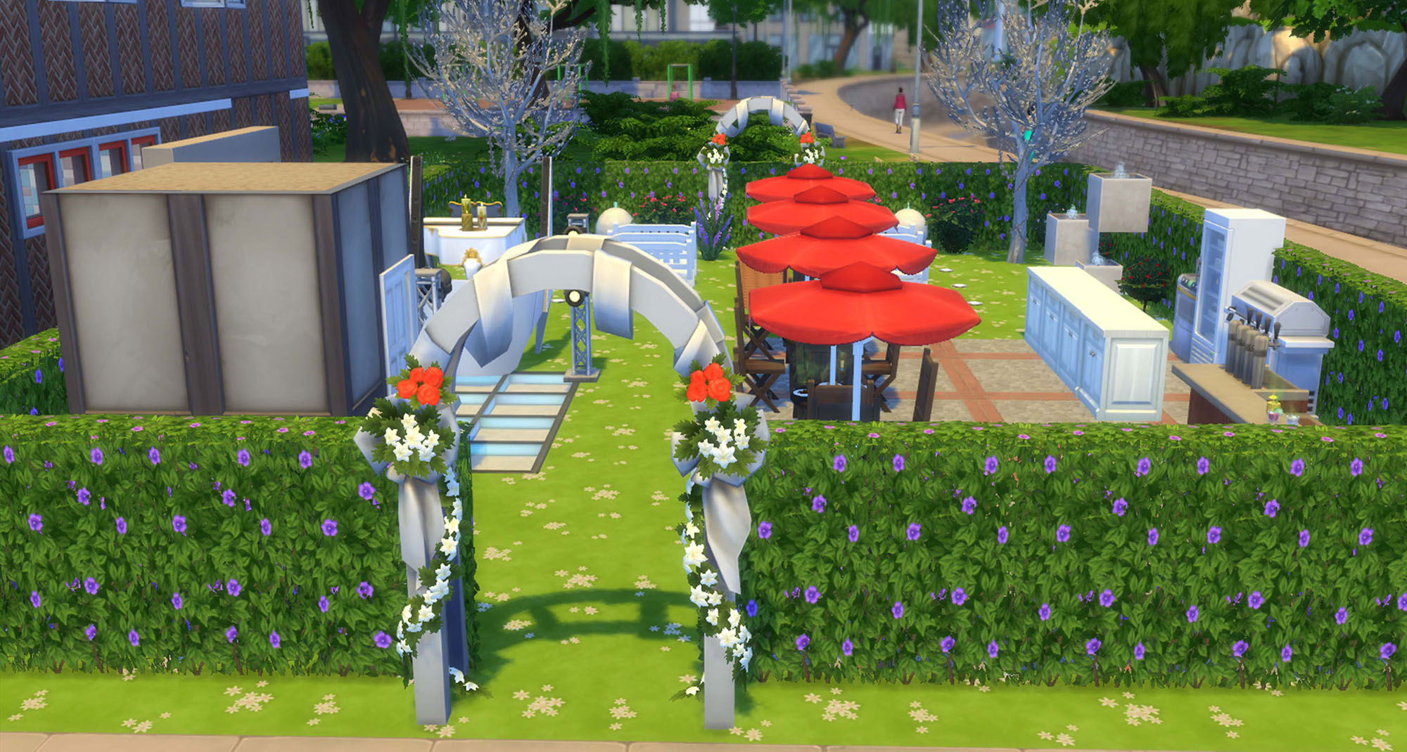 Mod The Sims - Wedding Park- Community Lot 20x15