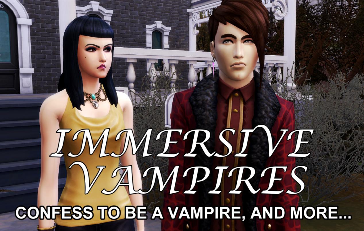 Мод Иммерсивные вампиры
