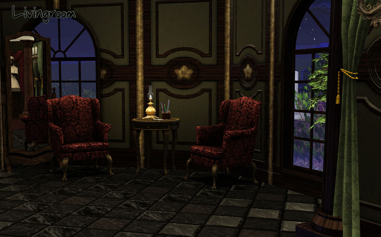 Mod The Sims Quot Haunted Medieval Castle Quot Huge And