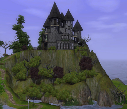 Downloads / Sims 2 / Lots / Community Lots - 'haunted house'