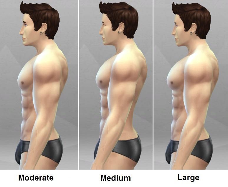 uusi halpa tukkukauppa myynti uk Mod The Sims - Bigger Chest/Ab Muscles for males