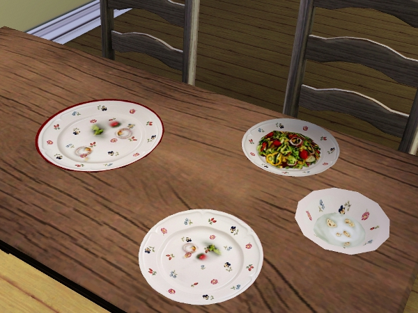 mod the sims villeroy boch dinnerware default replacements. Black Bedroom Furniture Sets. Home Design Ideas