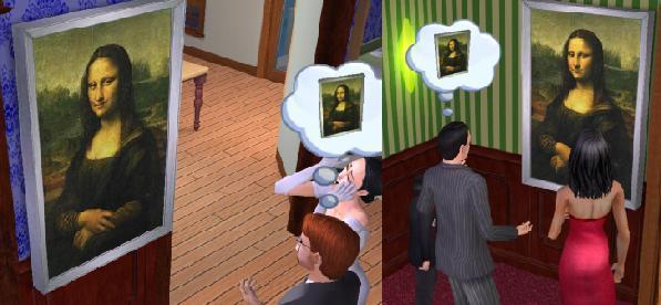 Mod The Sims Mona Lisa