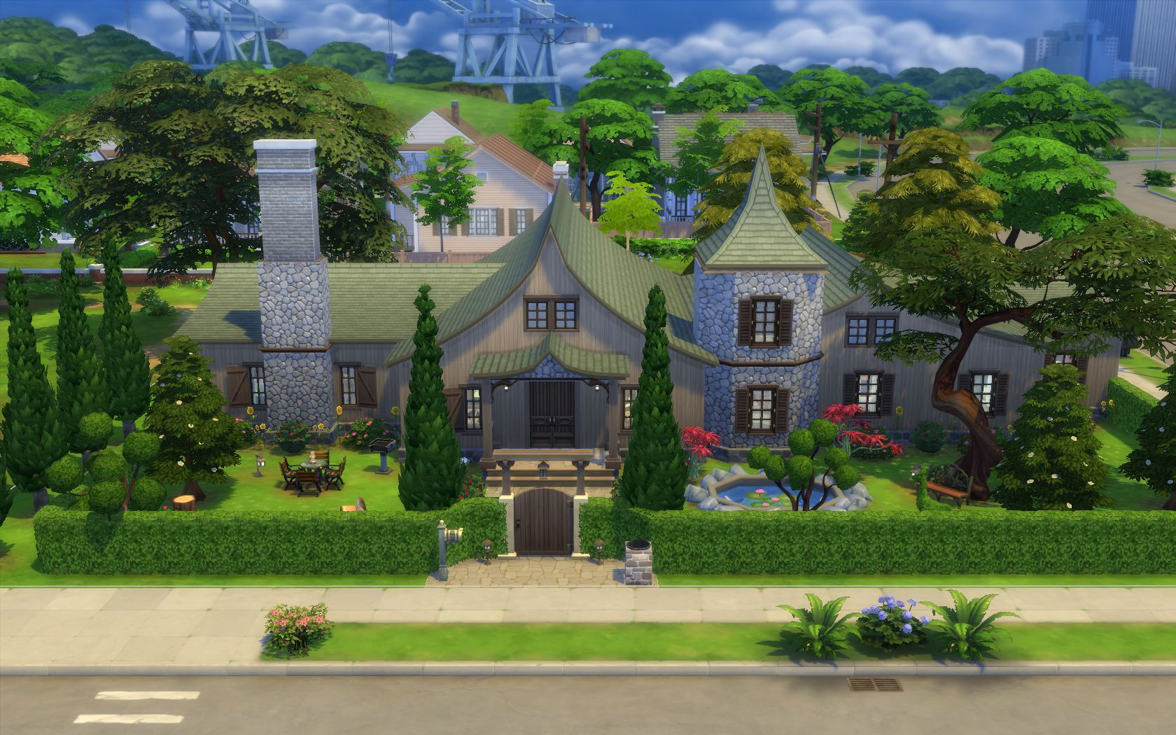 Mod the sims storybook cottage 5br 3ba for Storybook homes prices