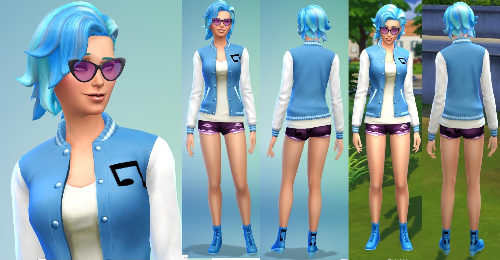 Mod The Sims Bonbon Lyra Vinyl Octavia Mlp