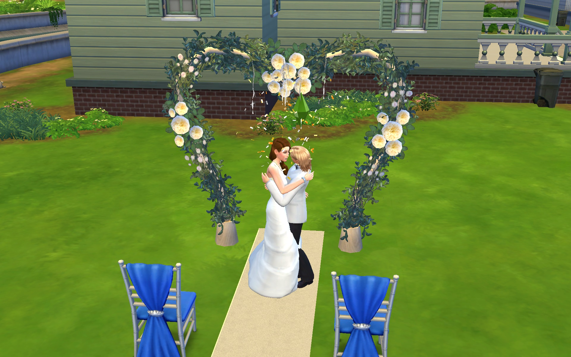 Mod The Sims - All Sims 3 Wedding Arches Set