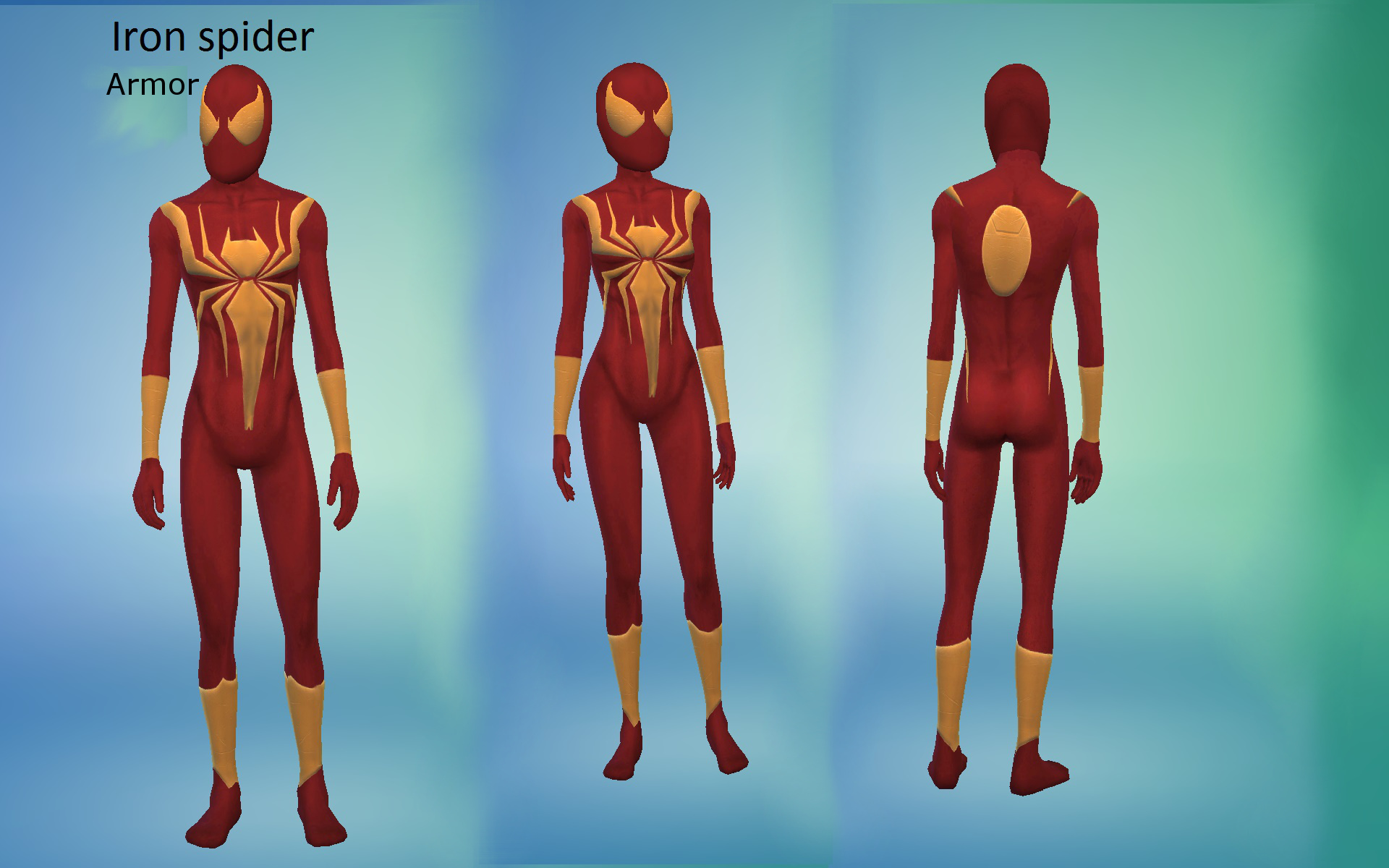 Mod The Sims Iron Spider Armor