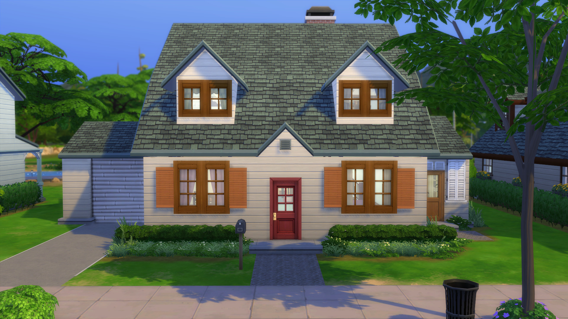 Mod The Sims - Family Guy House (The Sims 4) (Five Houses)