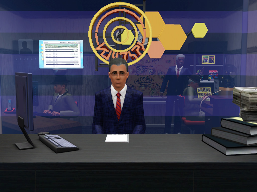 mod the sims all news tv channel. Black Bedroom Furniture Sets. Home Design Ideas