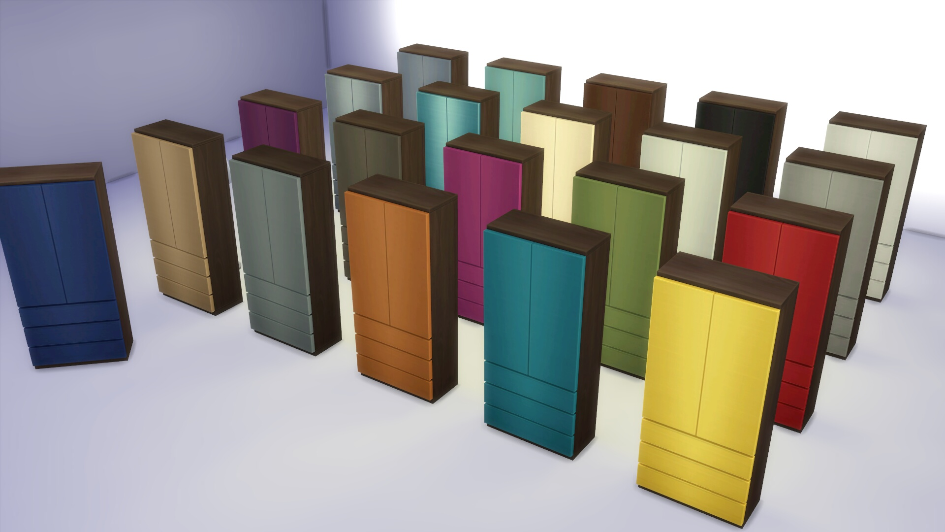 Mod The Sims Mix And Match Bedroom Furniture