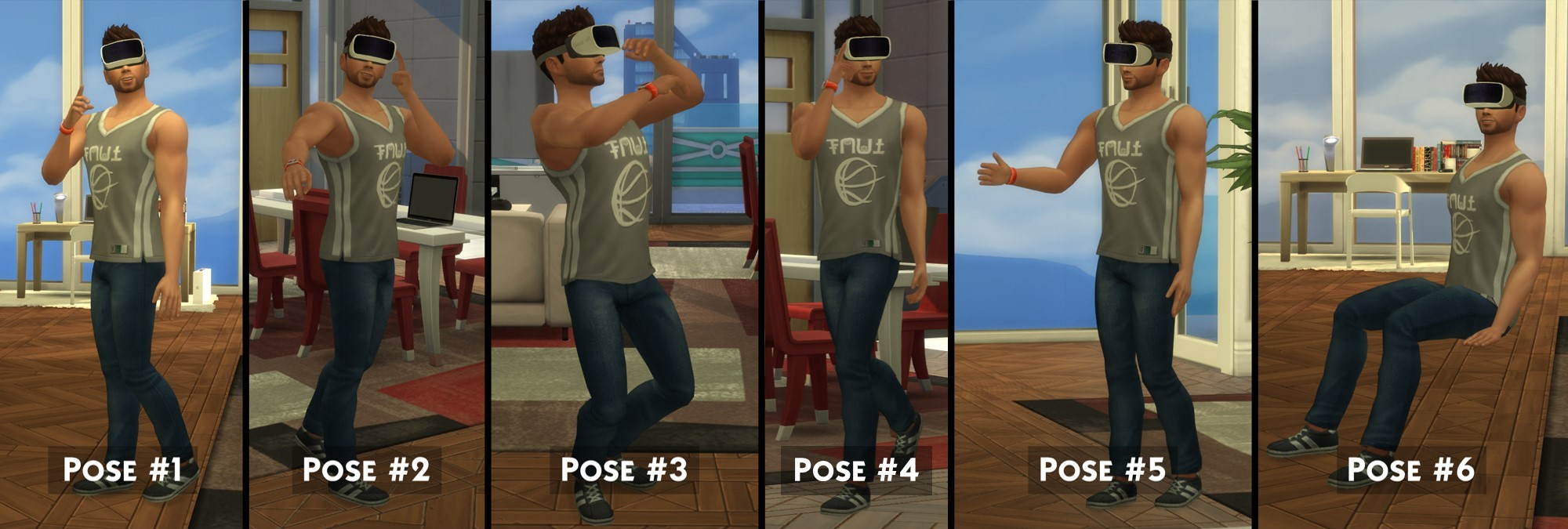 Mod The Sims - Samsung Gear VR [2015]