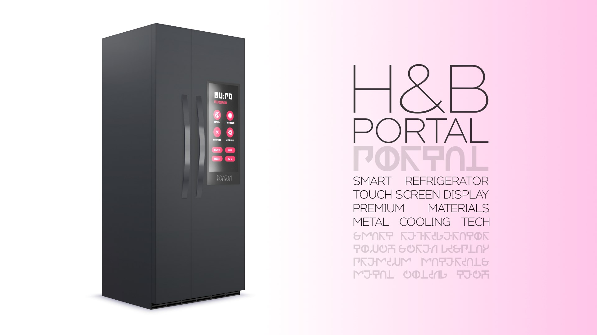 H&b Photo mod the sims - h&b portal - expensive refrigerator