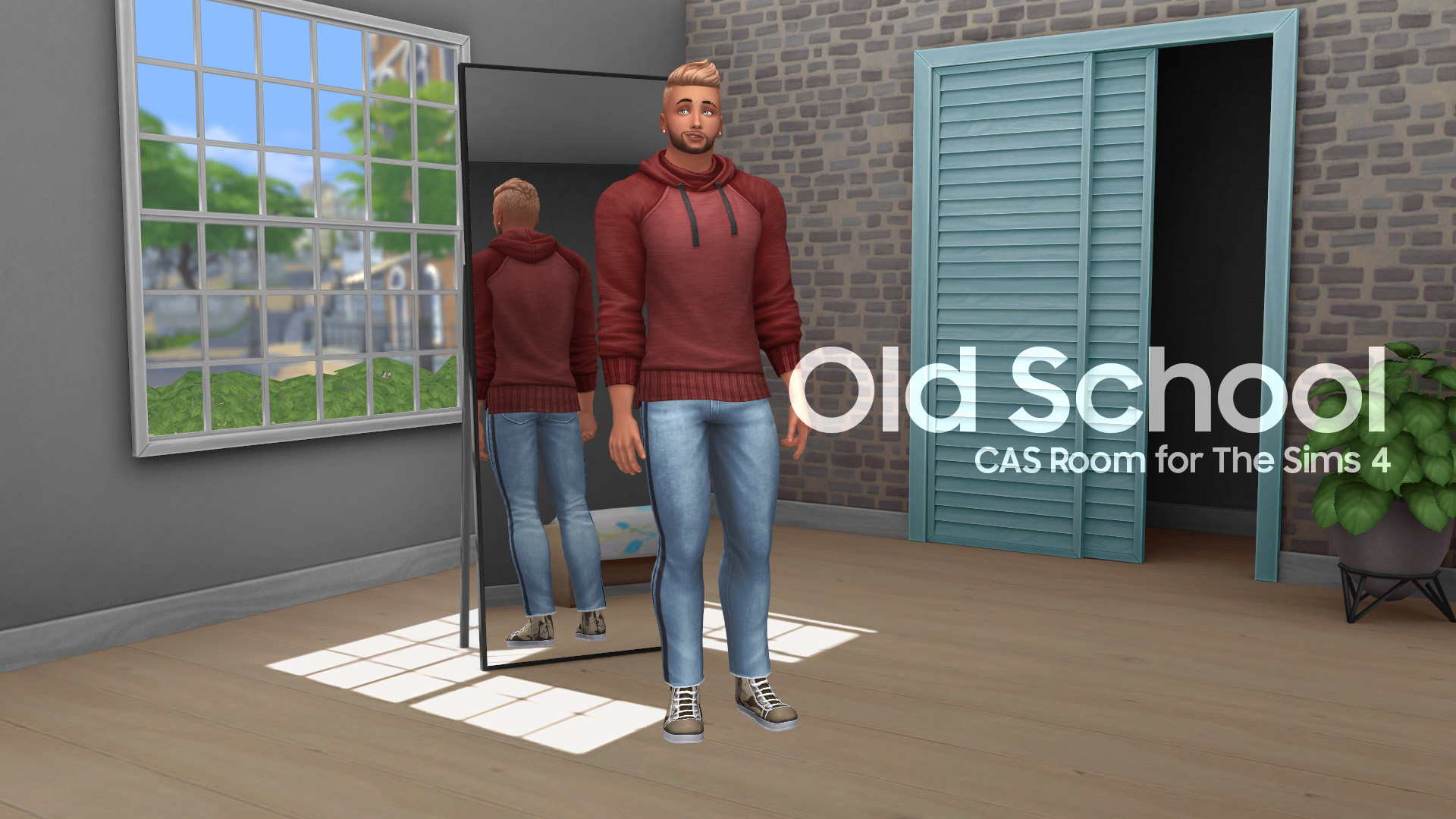 ModTheSims – Old School – CAS Room