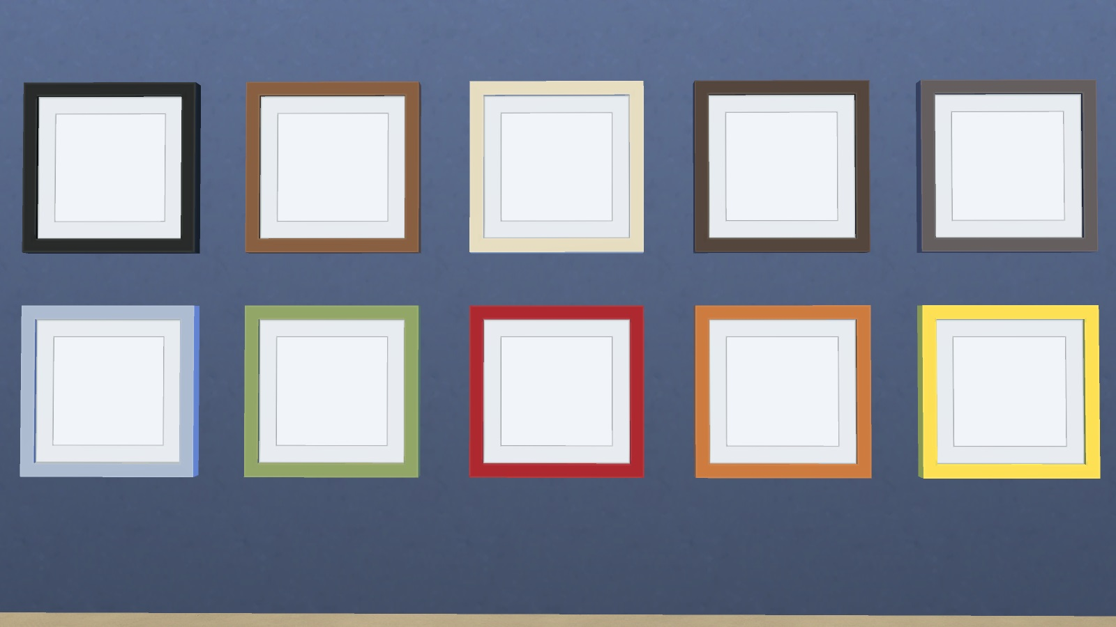Mod The Sims - Funky Frames - For Sim Paintings