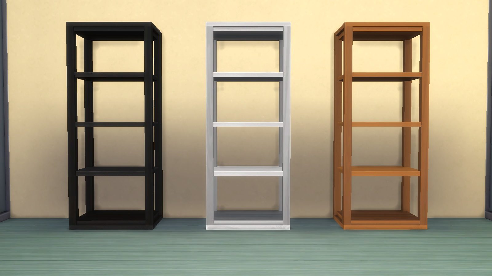 Mod The Sims Simplicity Collectible Shelf Maxis Match