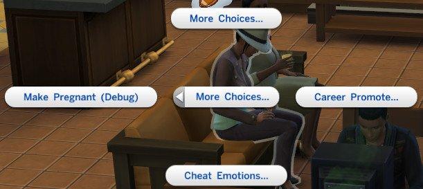 Mod The Sims - [Script Mod] enable advanced debug/cheat