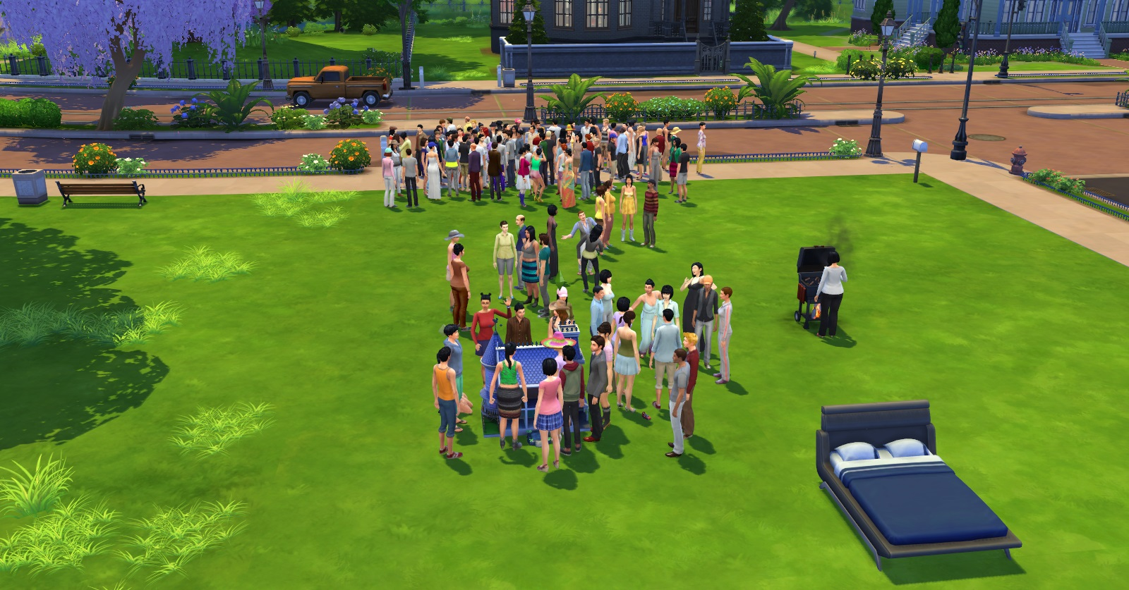 Mod The Sims - Full House Mod - Increase your Household Size