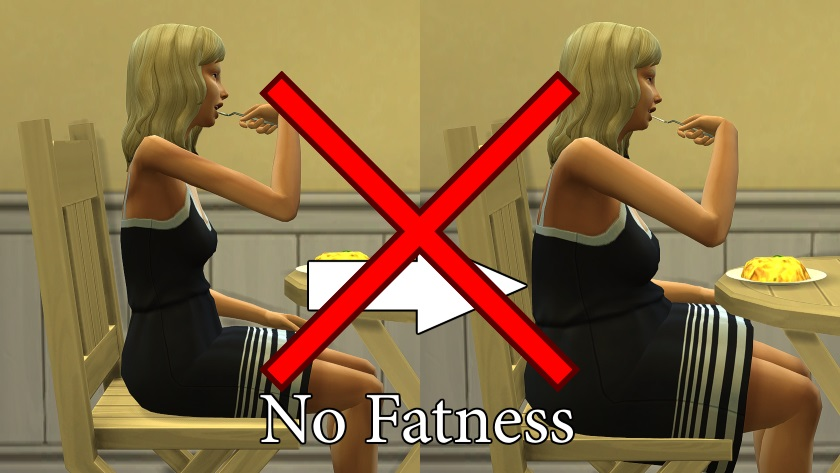 Mod the sims no fatness no muscles advertisement ccuart Image collections