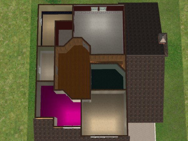 Mod The Sims 25 Maple Street 2 Story Family Home Based