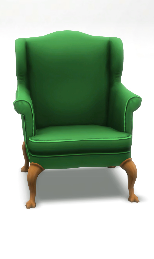 Mod the sims bracken living room chair sims 3 conversion for 3 star living room chair sims