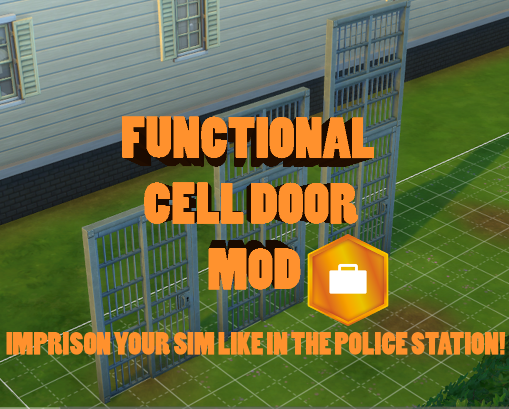 Mod The Sims - Functional Cell door mod (like in the police
