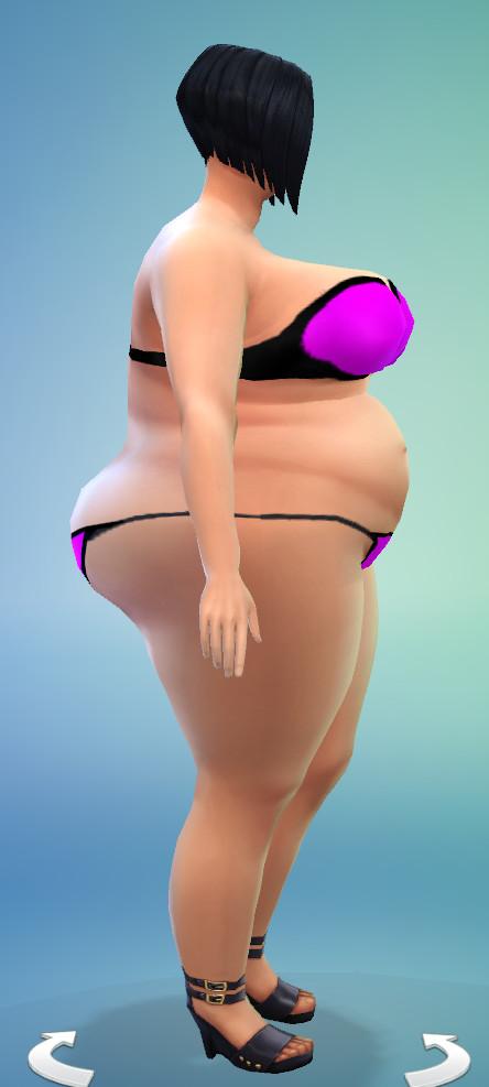 Bbw bikini am foto indir