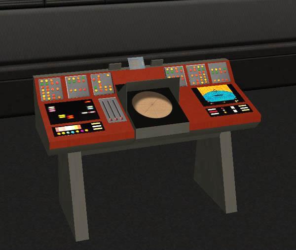 Mod the sims classic star trek transporter console - Star trek online console ...