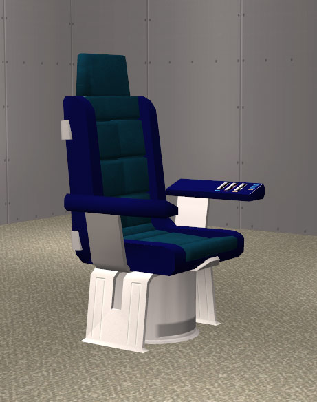 Mod The Sims Star Trek Enterprise Captains Chair – Star Trek Captain Chair