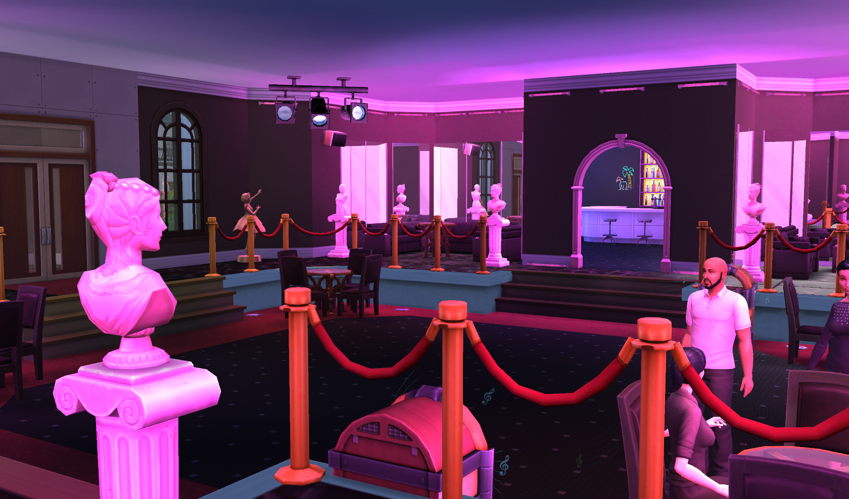 Mod The Sims Babylon Club From The Movie Quot Scarface Quot