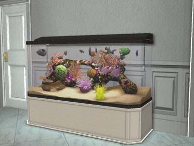 Sims 3 objects 'fish tank'.