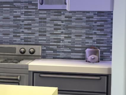 Mod The Sims - Modern kitchen backsplashes