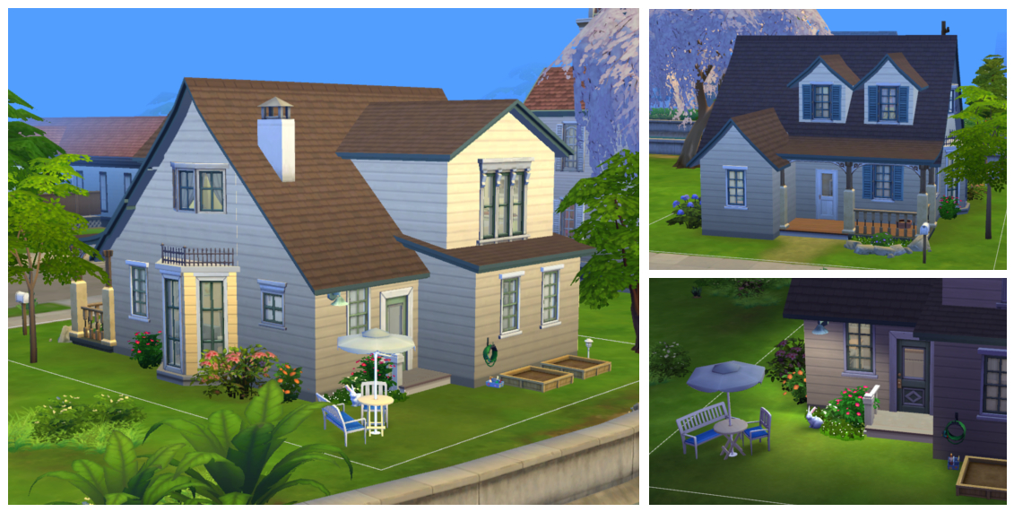 Mod The Sims Cozy For Three A House For Small Family